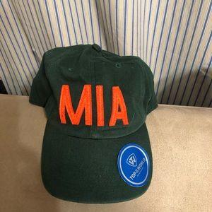 Accessories - Brand new Miami Hurricanes hat